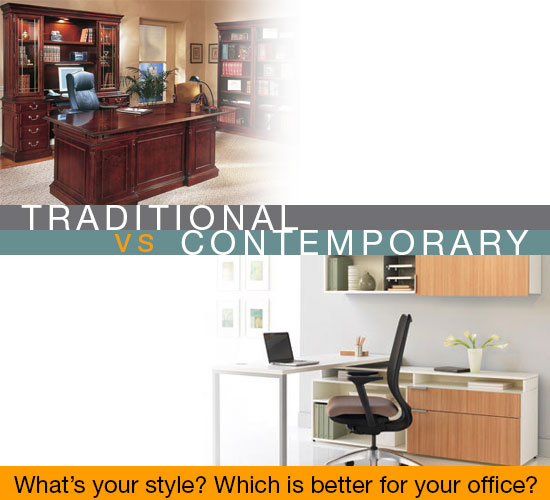 Traditional VS Contemporary Office Furniture: What's better for your office?