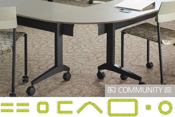 Cruz Mobile Tables by Community