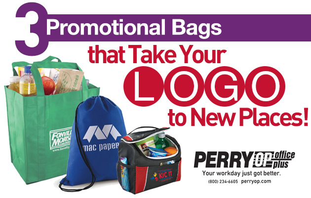 3 Promotional Bags That Take Your Logo to New Places