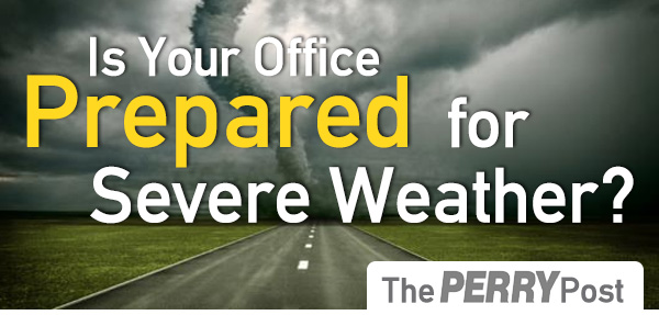 Is Your Office Prepared for Severe Weather?