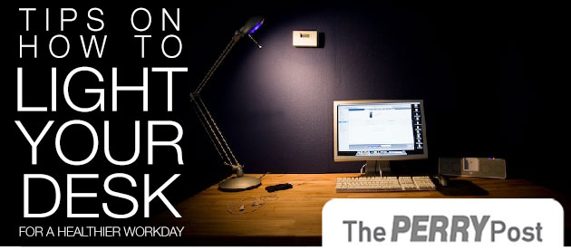 How to Light Your Desk for a Healthier Workday
