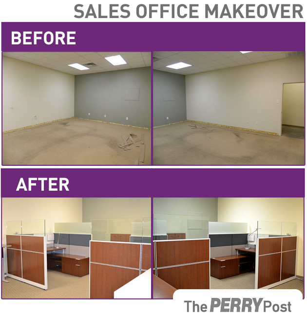 Transformation Tuesday : Sales Office Makeover