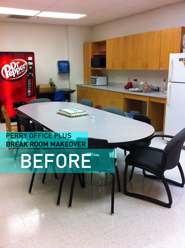 Office Break Room Design: The Perry Post