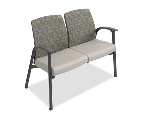 HON Soothe 2 Seat Bench Healthcare Furniture