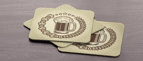 paper coaster