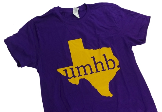 UMHB Promotional Shirt in one-color