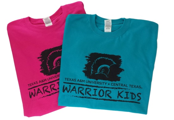 Texas A&M University - Central Texas / Warrior Kids Promotional Shirt in Multiple Colors